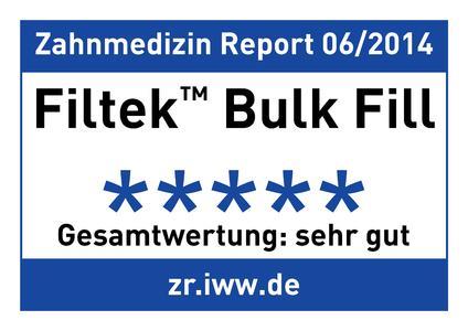 Top-Bewertungen für Filtek Bulk Fill!