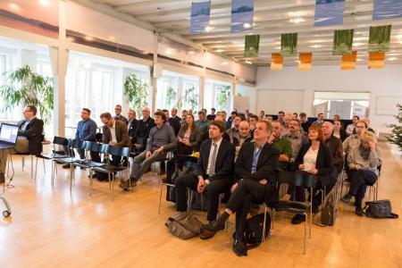 Auch die 6. Biogastagung bei der WEMAG in Schwerin stieß auf großes Interesse bei den Anlagenbetreibern / Foto: WEMAG/Stephan Rudolph-Kramer