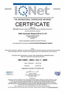 Matrix Certification14001