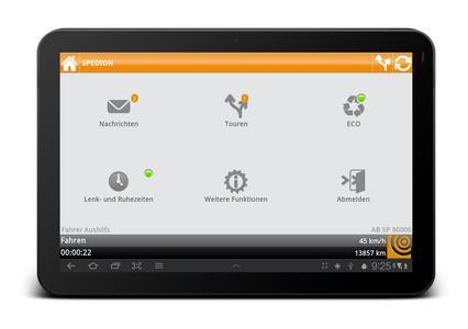 Telematiklösung ohne Vertragsbindung von der SPEDION GmbH / Bild: SPEDION