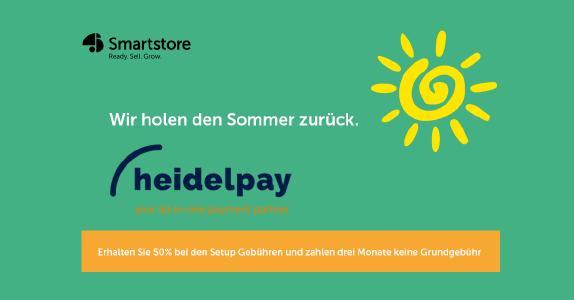 heidelpay Zahlungsabwicklung ab sofort für Smartstore.NET verfügbar