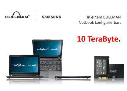 Bis Zu 100 Terabyte Daten In Einem Bullman Notebook An Bord