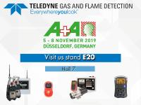 Teledyne Gas and Flame Detection to attend A+A