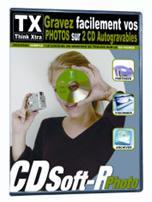 TX WEA lanciert CDSoft-R Photo-Rohling mit integrierter Brennsoftware