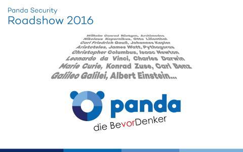 Panda lädt zur IT-Security-Roadshow 2016