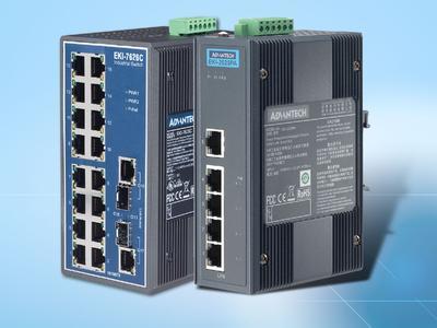 (PoE-) Switches für die Industrie