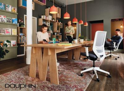 Dauphin to-sync Work Mesh Bürostuhl / Schreibtischstuhl