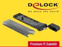 Externes Combo Gehäuse für M.2 SSDs von Delock, Artikelnummer 42635