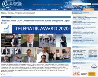 Die Verleihung des Telematik Awards 2020 fand als dreiwöchiges Digital-Event statt.