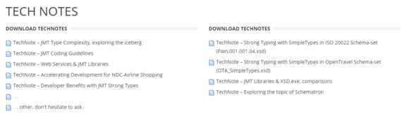 TechNote - a wide selection to download