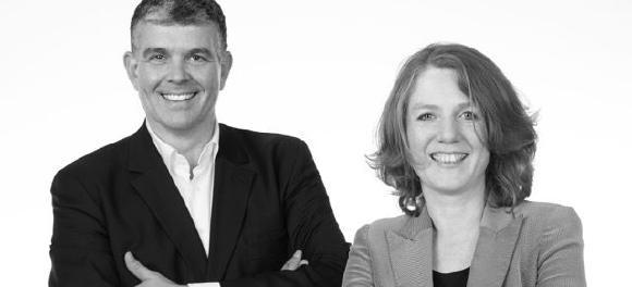 Dr. Hilde Mohren und Johannes Eckmann