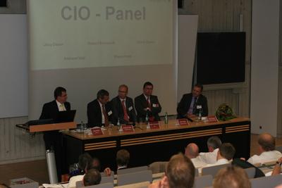 CIO-Panel auf der HIS-Tagung 2010