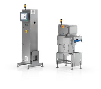 SC-2000: Röntgenscannen und Ausschleusen auf 700 mm