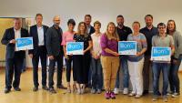 """Vier Schulen wurden mit dem """"BoriS - Berufswahl-SIEGEL Baden-Württemberg"""" gewürdigt. Foto: IHK Heilbronn-Franken"""