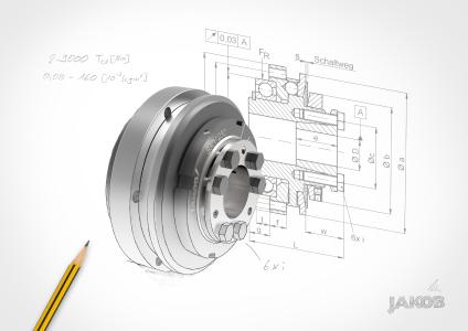 Small dimensions at high power - Safety coupling SKY