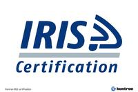 Kontron achieves  International Railway Industry Standard (IRIS) certification