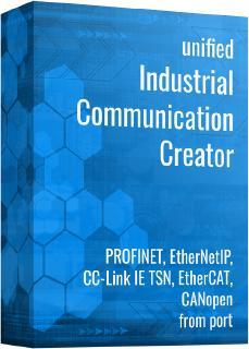 "port's Tool Chain ICC (Industrial Communication Creator)  unterstützt RENESAS RJ45 Multi-Protokoll-Module"" - (R-IN32M3 Module for Multi-Protocol Support) - für PROFINET, EtherNetIP und EtherCAT"