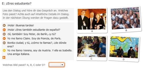 Babbel Online Tutorial Dialog