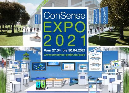Virtuelle Messe ConSense EXPO – 27. bis 30. April 2021: Frische Infos und News rund um ConSense Softwarelösungen für das Qualitätsmanagement und Integrierte Management – anwenderfreundlich, hochkonfigurierbar und individualisierbar