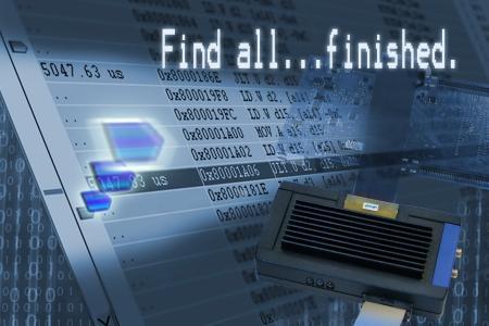 PLS' UDE 4.6.2 unterstützt mit einzigartiger Suchfunktion die schnelle Auswertung großer Trace-Datenmengen