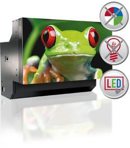 LED DLP cube