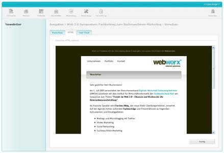 sitepackage:// Screenshot