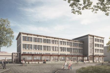 """So wird das """"Kohlektiv"""" nach der Fertigstellung aussehen. Copyright Bild: Aurelis Real Estate GmbH"""