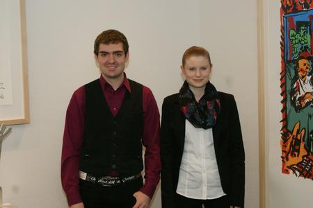 Dorothee Winkler und Sven Weber zählen zu Deutschlands besten Auszubildenden