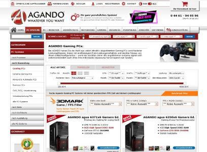 Screenshot AGANDO 3DMark Game / FPS Filter 1