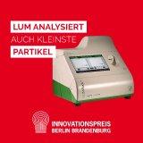 "Innovation ""LUMiSpoc® - Forward and Sideward Particle Scattering Analyser"" für den Innovationspreis Berlin Brandenburg 2021 nominiert"