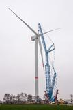 Prototype of Senvion 6.2M152 with the biggest rotor is erected