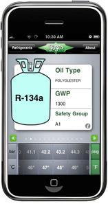 Mit der neuen BITZER iPhone App zur Ermittlung des Druck-Temperatur-Verhältnisses von Kältemitteln bietet BITZER eine zukunftsweisende Alternative zum klassischen Kältemittelschieber