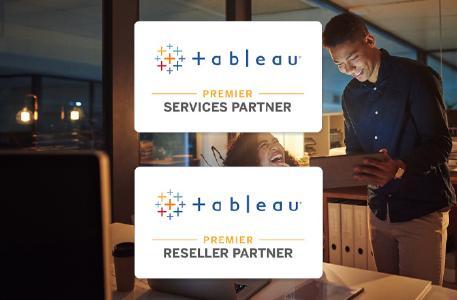 Höchste Auszeichnung der Woodmark Consulting AG als Tableau Premier-Partner in den Bereichen Reseller und Services