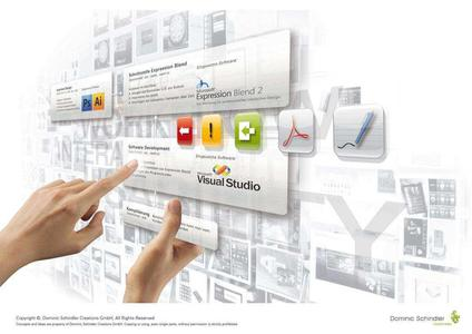 Ein Spezialgebiet der Design Agency ist das Interface Design. Immer mehr Produkte verfügen über eine solche Schnittstelle zwischen Anwender und Produkt - meist über ein Display