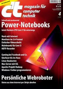 Das Titelbild der aktuellen c't-Ausgabe 04/2010
