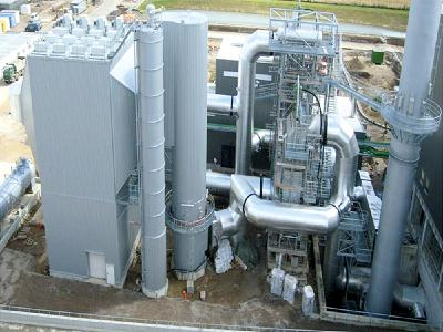 Utilizing waste heat, improving climate balance, reducing cost
