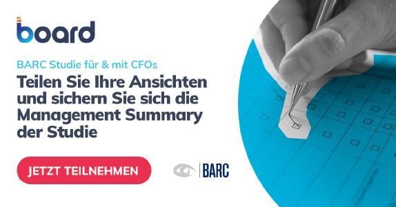 BARC Survey für und mit CFOs