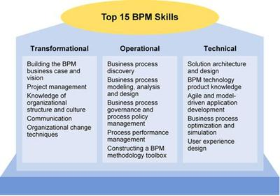 Fifteen Skills Critical to Success With Business Process Management