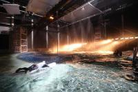Verlinde fits out the world's first underwater cinema set at the Lites cinema studios in Belgium