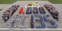 Eurocopter officially hands over its 1,000th EC135 helicopter to the ADAC