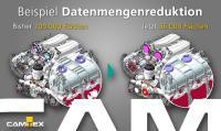 Neu: CADdoctor EX 8 und SX 5 mit spezieller Funktion zur Datenmengenreduktion.