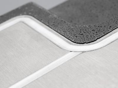 Optimal gefügt: Lost-Foam-Guss mit unebener Oberfläche lässt sich mit der Rührreibschweiß-Technologie bestens bearbeiten