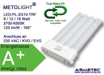 METOLIGHT LED Kompaktröhre 2G10 der Serie TRF