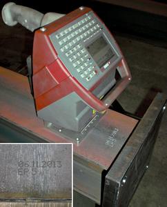 FlyMarker marking of welding seam
