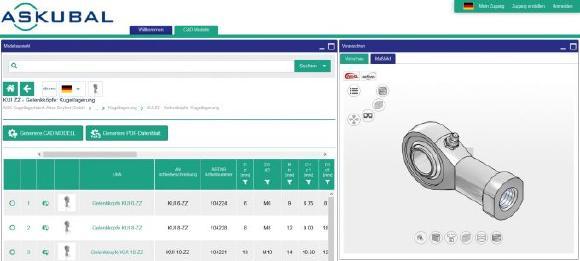3D CAD Modelle von ASKUBAL vereinfachen und beschleunigen Konstruktionen