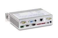 Customized embedded box PC: Syslogic has developed and manufactured this industrial computer according to the specific needs of a customer.