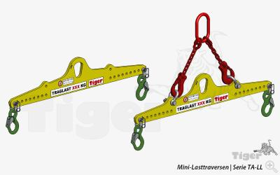 Flexible Mini-Lasttraversen für Kleinlasten - Tiger® Serie TA-LL