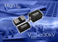 Toshiba Launches High Peak Pulse Current TVS Diodes for Power Line Protection