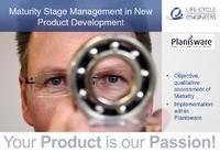 """Maturity Stage Management in Product Development"" Präsentation am Planisware Kundentag 2012"