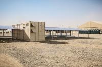 Mobiler Solarcontainer für netzferne Regionen
